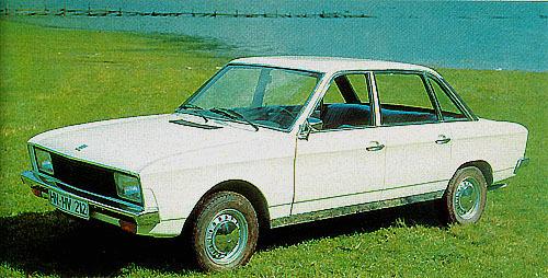 Volkswagen K70 1969 - 1974 Sedan #3