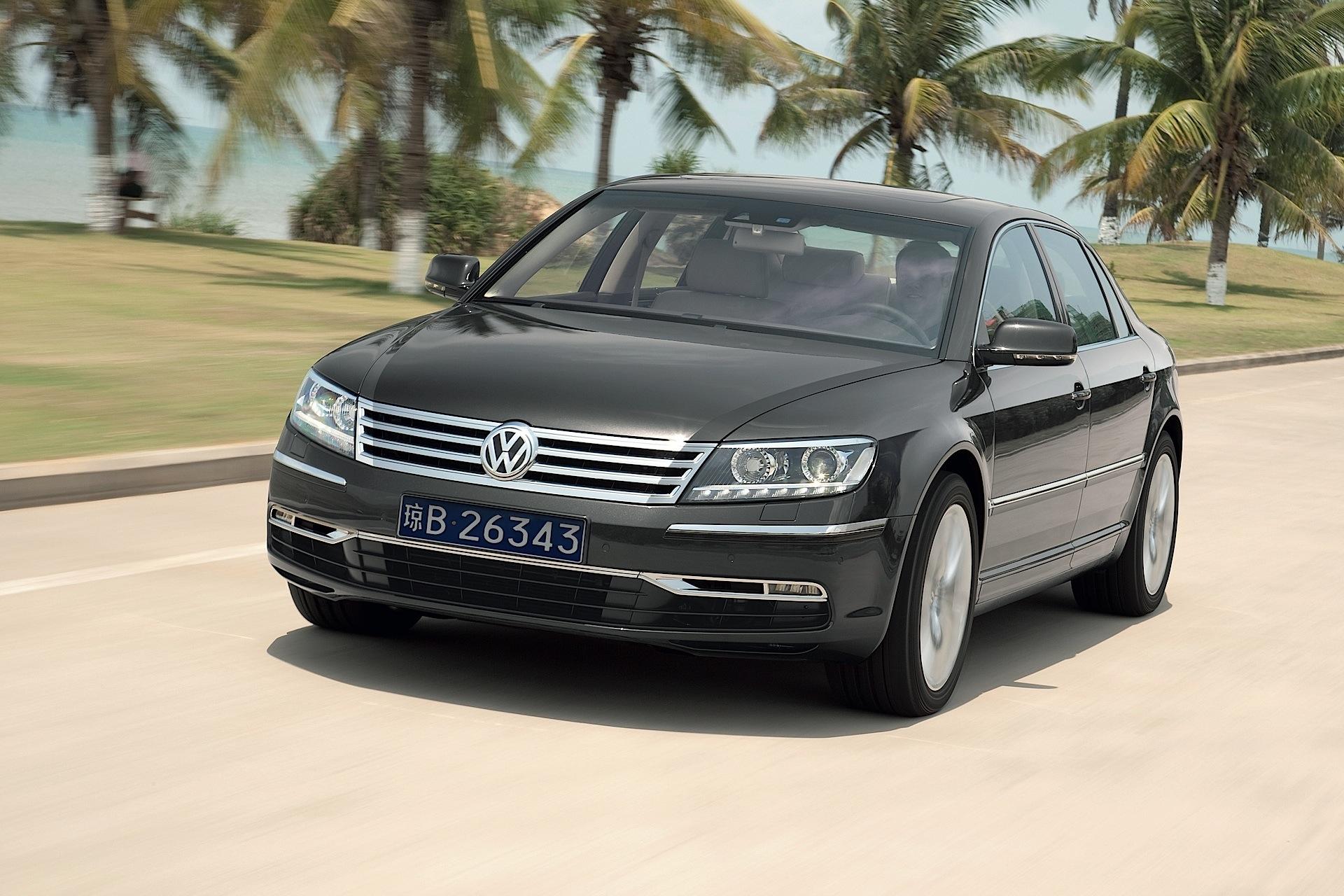 Volkswagen Phaeton I Restyling 2010 - 2016 Sedan #5
