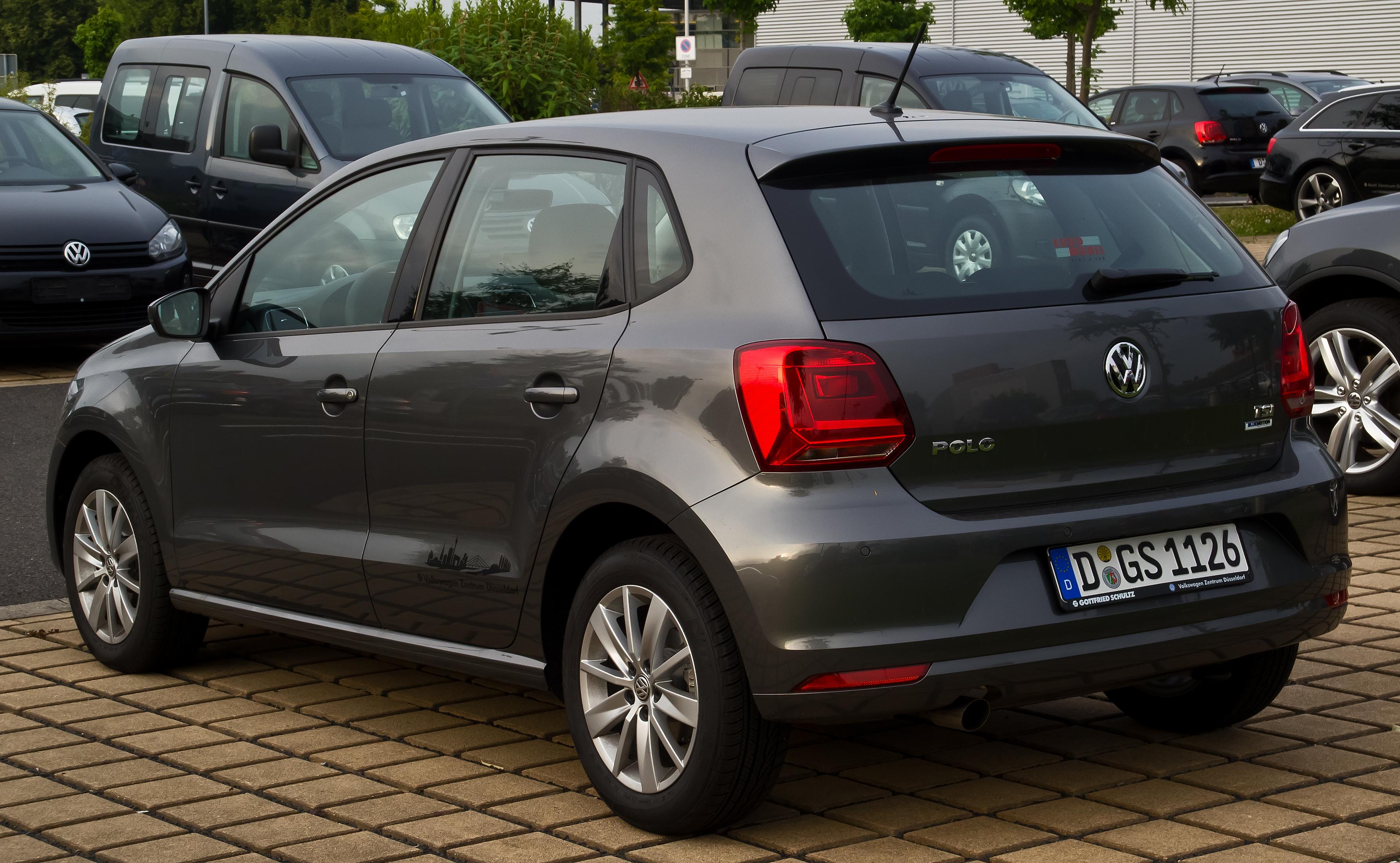 Volkswagen Polo V Restyling 2014 - now Hatchback 5 door #5