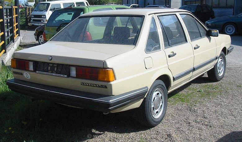 Volkswagen Santana 1981 - 1984 Sedan #4