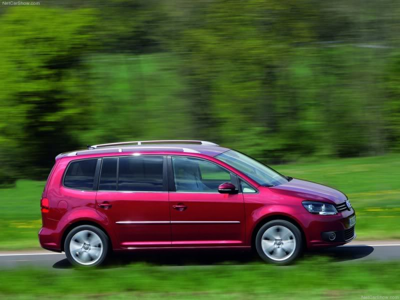 Volkswagen Touran I Restyling 2006 - 2010 Compact MPV #1