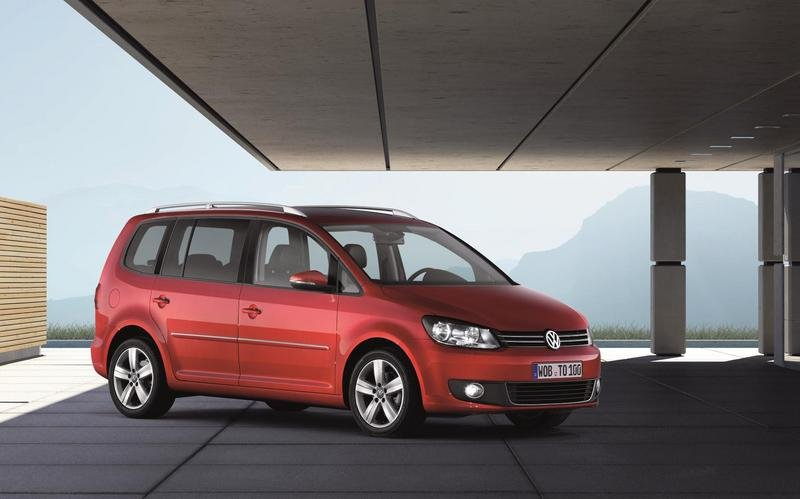 Volkswagen Touran I Restyling 2006 - 2010 Compact MPV #8