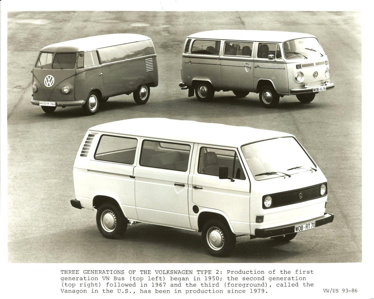 Volkswagen Type 2 T2 1967 - 1979 Minivan #5