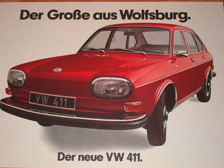 Volkswagen Type 4 I (411) 1968 - 1973 Sedan #1