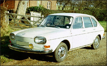 Volkswagen Type 4 I (411) 1968 - 1973 Sedan #4