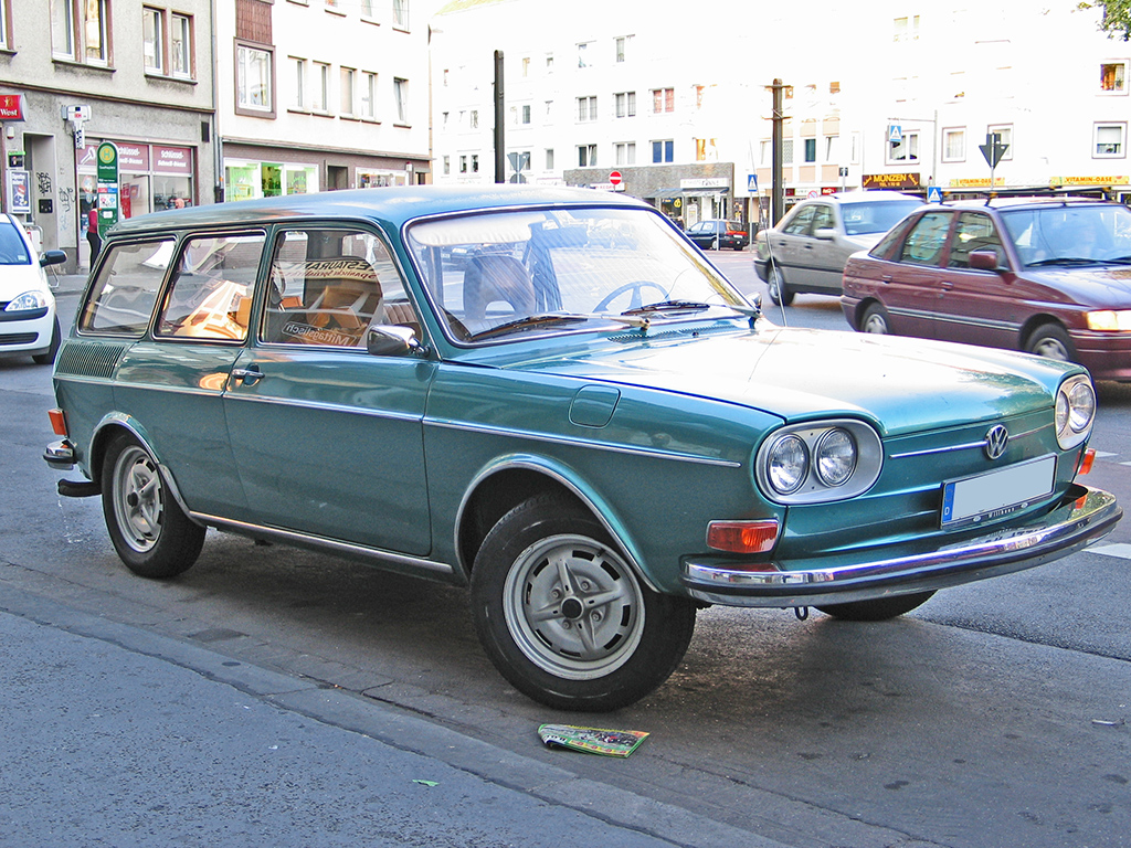 Volkswagen Type 4 I (411) 1968 - 1973 Sedan #8