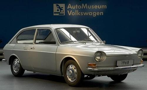 Volkswagen Type 4 II (412) 1972 - 1975 Sedan #1