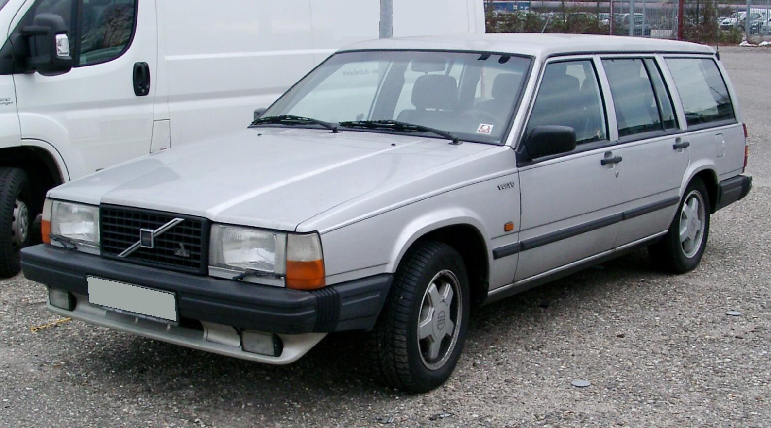 Volvo 740 1983 - 1992 Station wagon 5 door #7