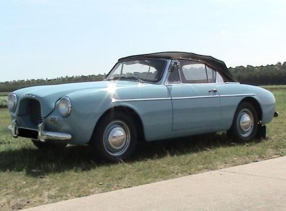 Volvo P1900 1956 - 1957 Cabriolet #4