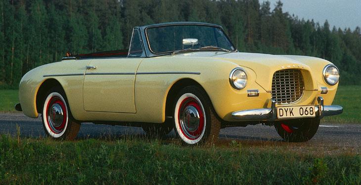 Volvo P1900 Sport Convertible Cabrio Blau 1956-1957 limitiert 1 von 1008 Tripl..