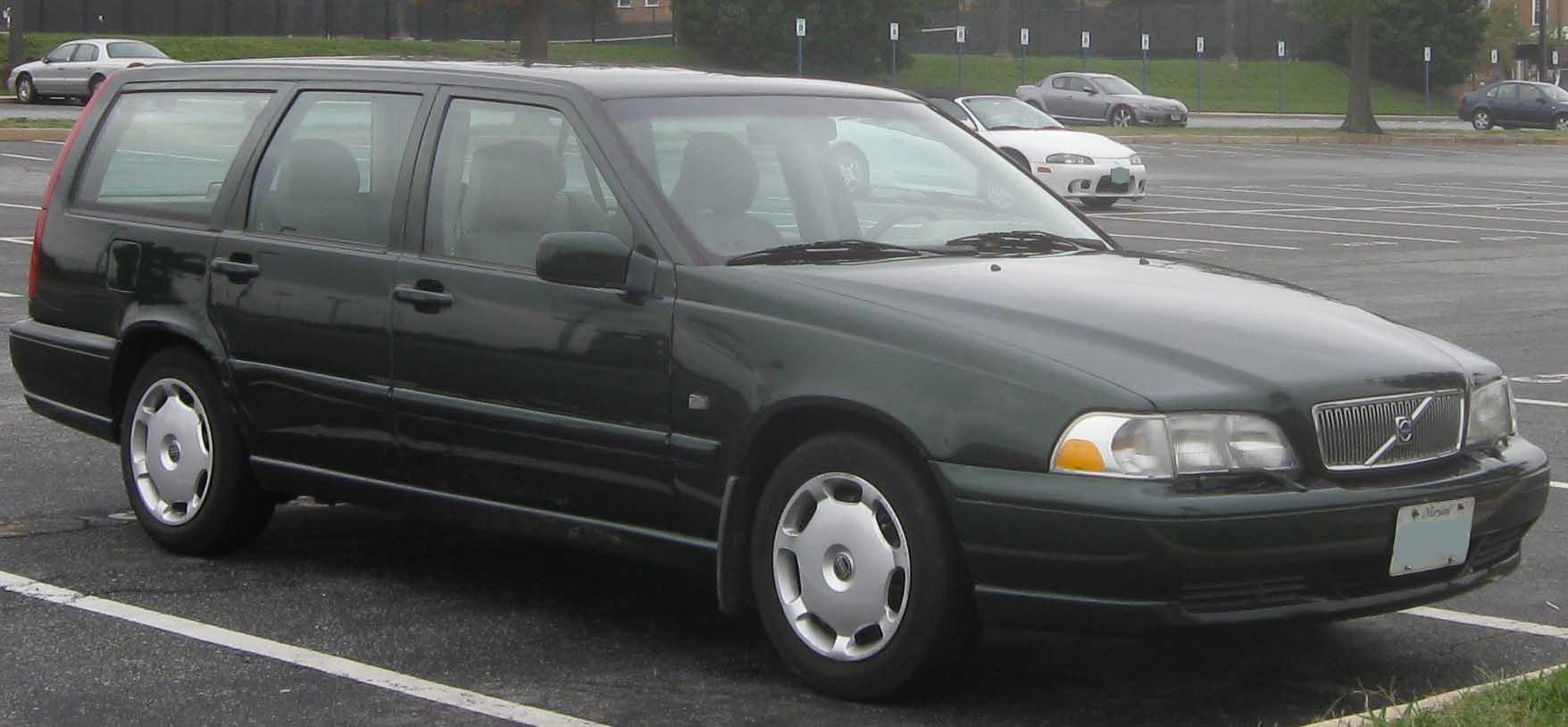 Volvo V70 I 1996 - 2000 Station wagon 5 door :: OUTSTANDING CARS
