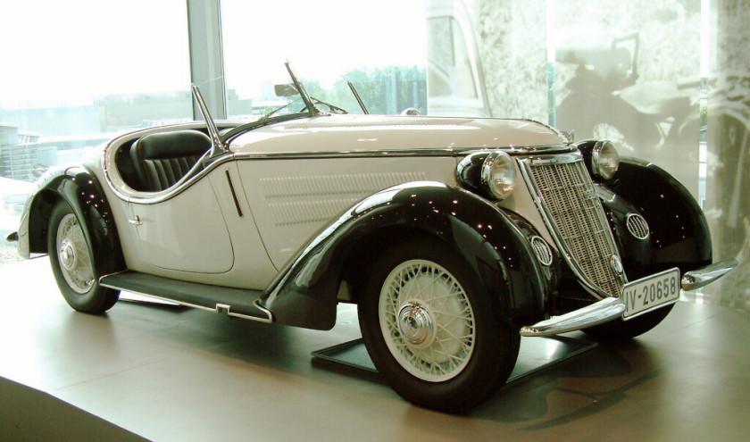 Wanderer W50 I 1936 - 1938 Cabriolet #6