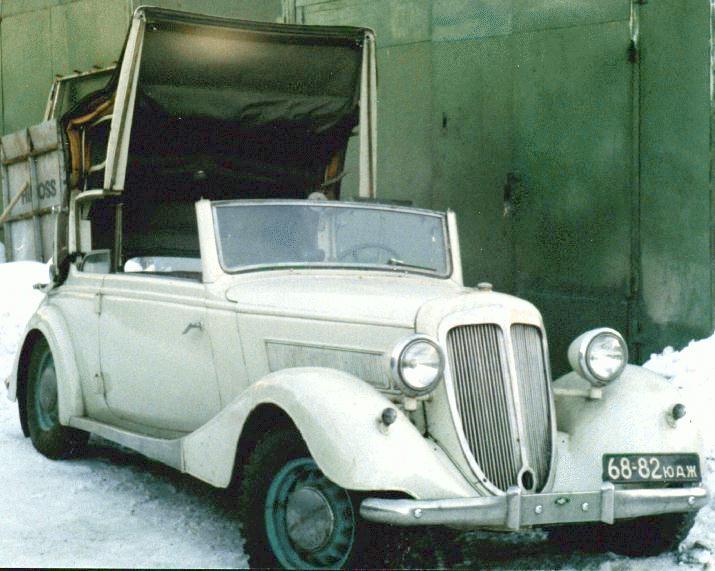Wanderer W50 I 1936 - 1938 Cabriolet #2