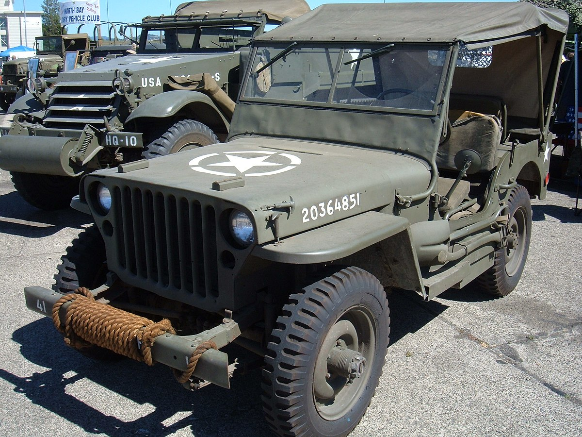 Willys MB 1941 - 1945 SUV #7