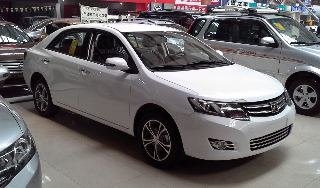 Zotye Z300 2015 - now Sedan #8