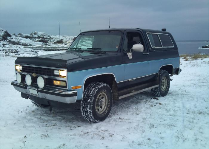 Chevrolet Blazer K5
