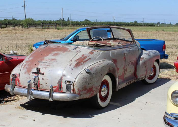 chevrolet fleetmaster 1946 - 1948 cabriolet :: outstanding cars
