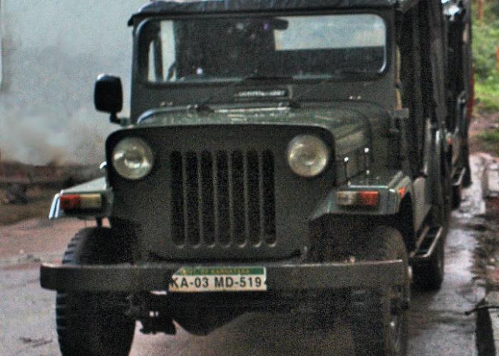 Mahindra CJ-3