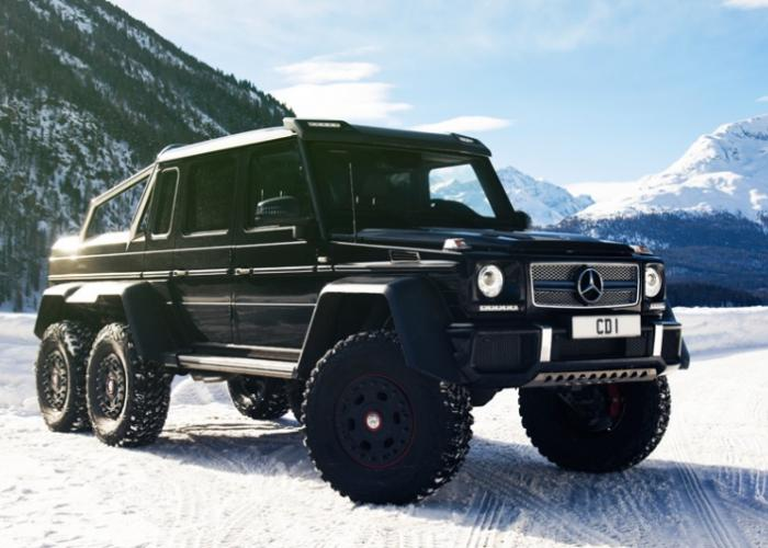 mercedes benz g klasse amg 6x6 2013 now pickup outstanding cars. Black Bedroom Furniture Sets. Home Design Ideas