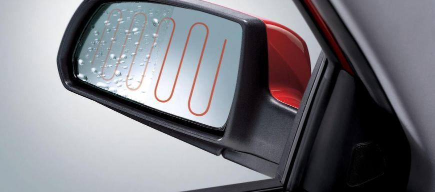 Advantages of rear-view mirrors with heating