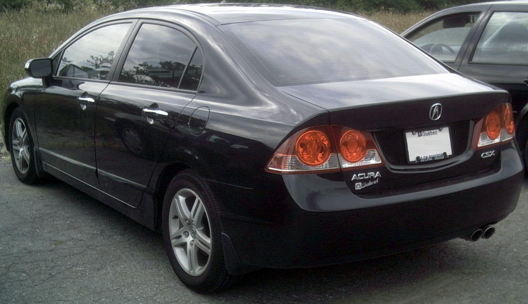 Acura CSX 2005 - 2011 Sedan #3