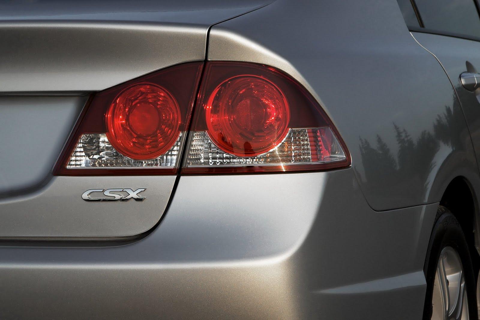 Acura CSX 2005 - 2011 Sedan #4