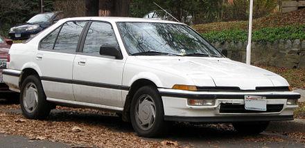 Acura Integra I 1985 - 1989 Hatchback 5 door #4