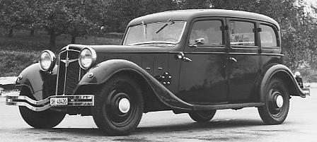 Adler Diplomat 1934 - 1940 Sedan #5