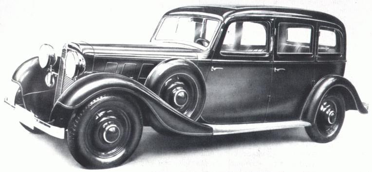 Adler Diplomat 1934 - 1940 Sedan #3