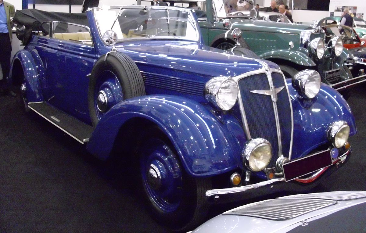 Adler Diplomat 1934 - 1940 Sedan #8