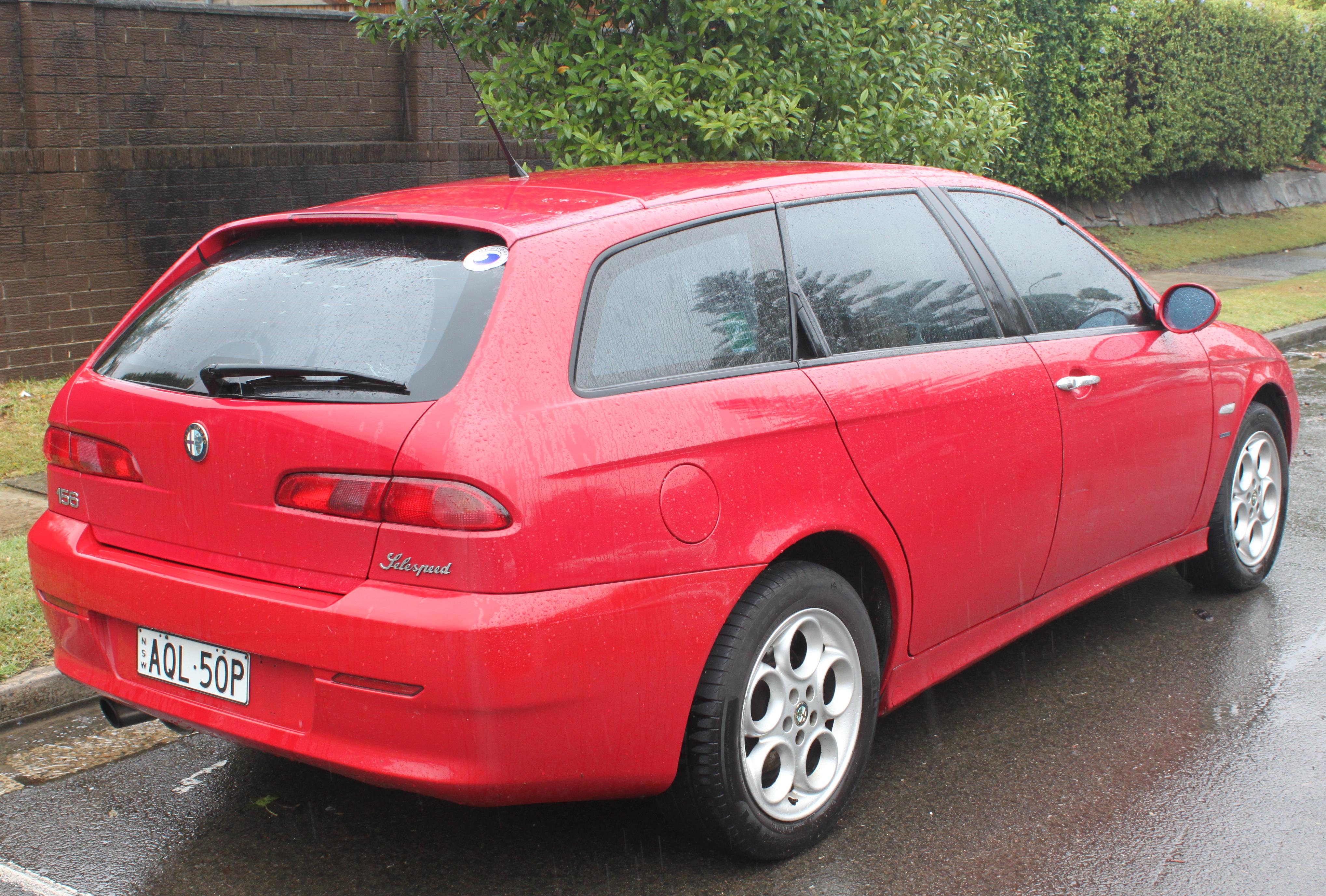Alfa Romeo 156 I Restyling 2 2003 - 2007 Station wagon 5 door #3