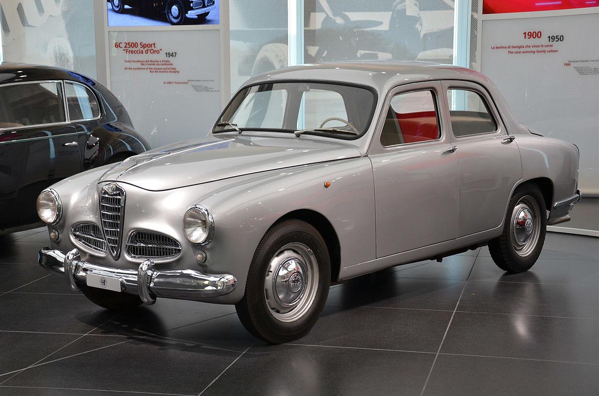 Alfa Romeo 1900 1950 - 1959 Sedan #8