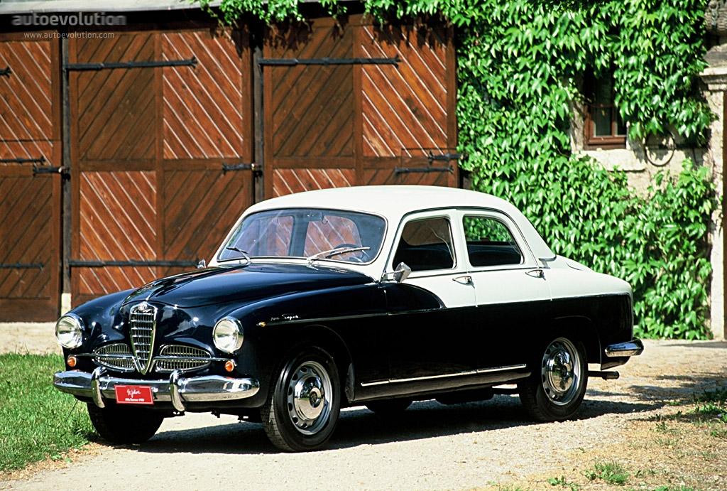 Alfa Romeo 1900 1950 - 1959 Sedan #2