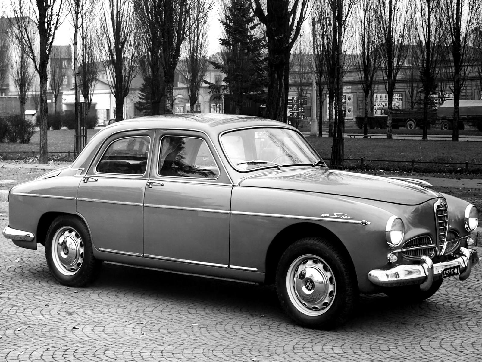 Alfa Romeo 1900 1950 - 1959 Sedan #3