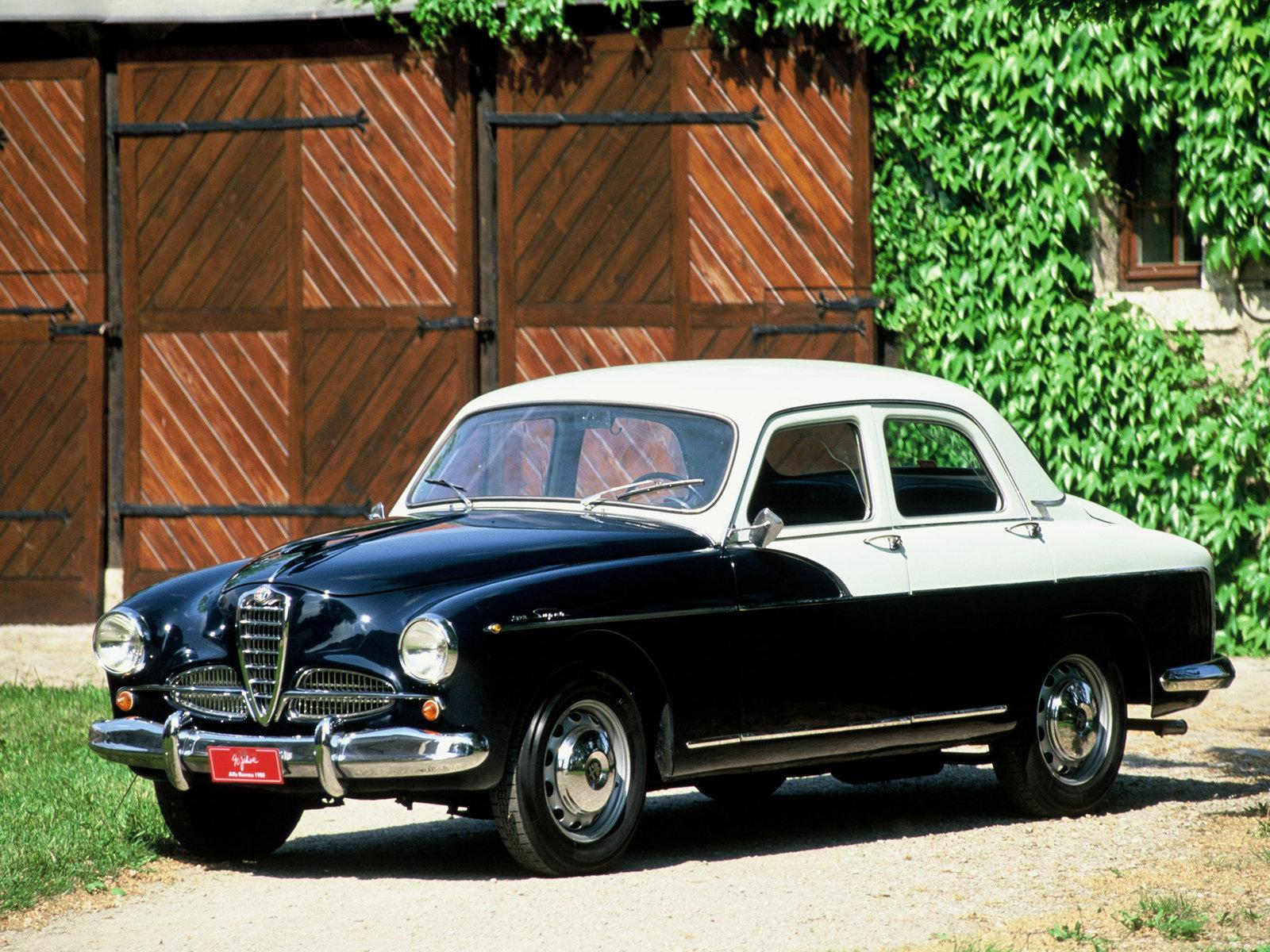 Alfa Romeo 1900 1950 - 1959 Sedan #1