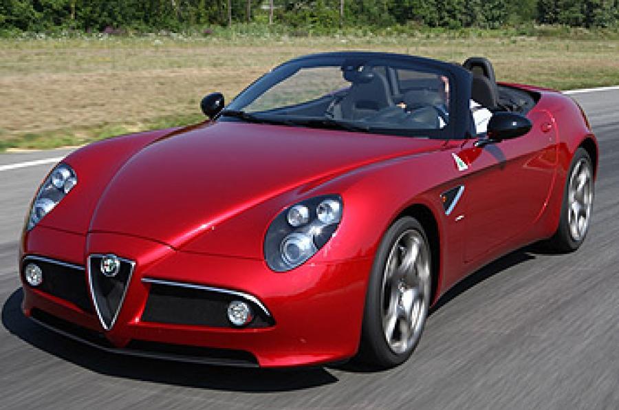 Alfa Romeo 8C Competizione 2007 - 2010 Roadster #3