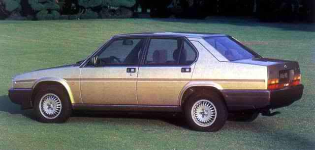 Alfa Romeo 90 1984 - 1987 Sedan #8