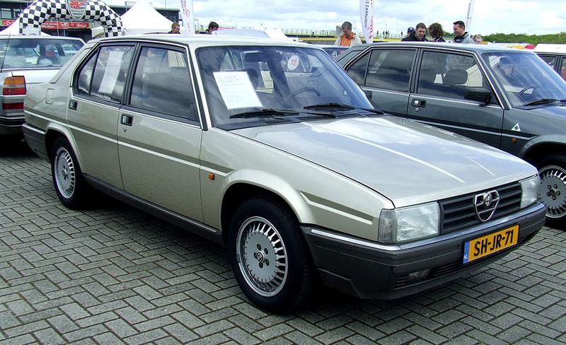 Alfa Romeo 90 1984 - 1987 Sedan #4