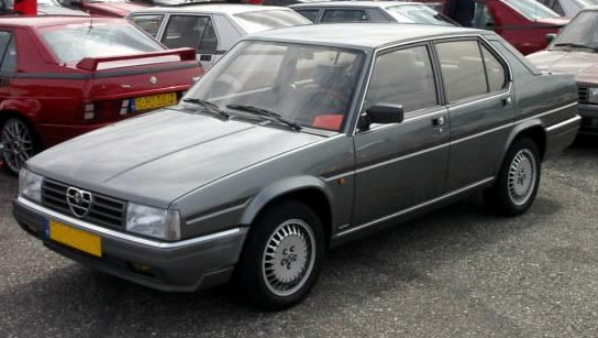 Alfa Romeo 90 1984 - 1987 Sedan #1