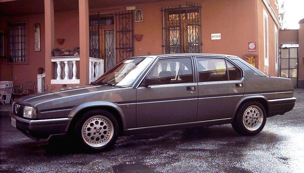 Alfa Romeo 90 1984 - 1987 Sedan #5