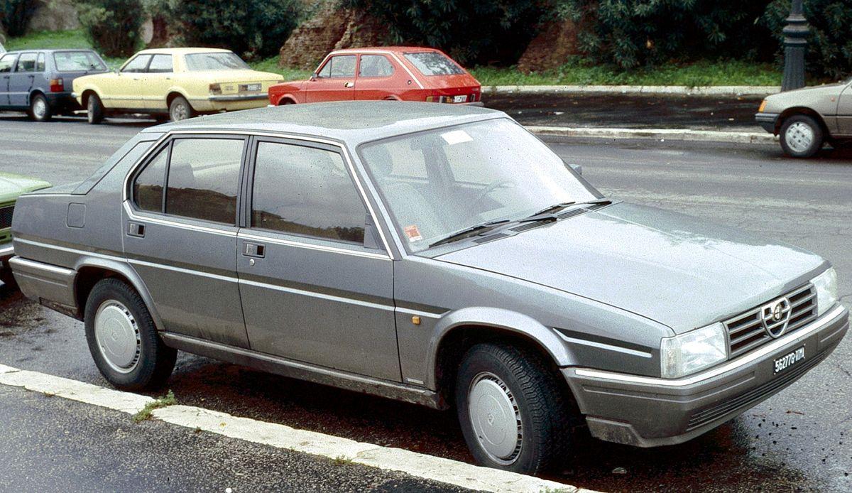 Alfa Romeo 90 1984 - 1987 Sedan #6