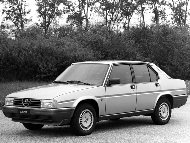 Alfa Romeo 90 1984 - 1987 Sedan #3