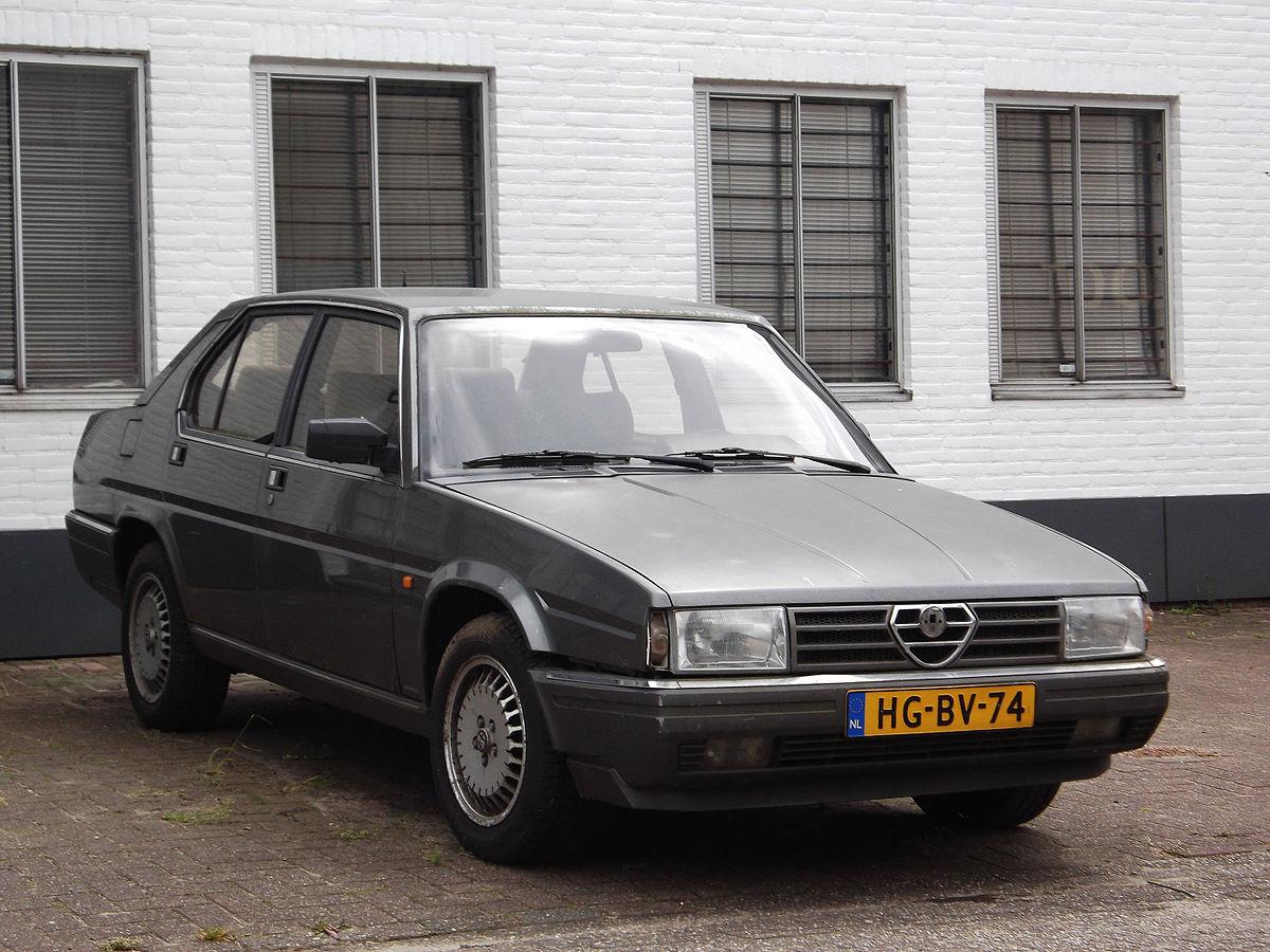 Alfa Romeo 90 1984 - 1987 Sedan #7