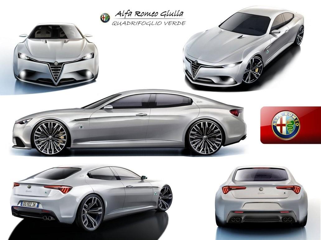 Alfa Romeo Giulia II (952) 2016 - now Sedan #2