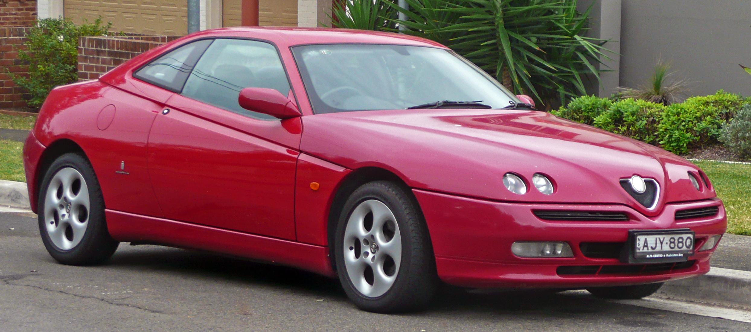 Alfa Romeo GTV 1995 - 2006 Coupe #4