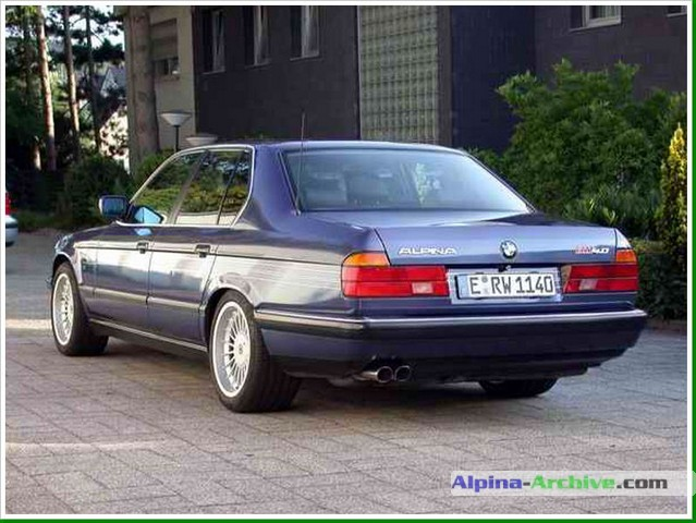 Alpina B11 E32 1987 - 1994 Sedan #1