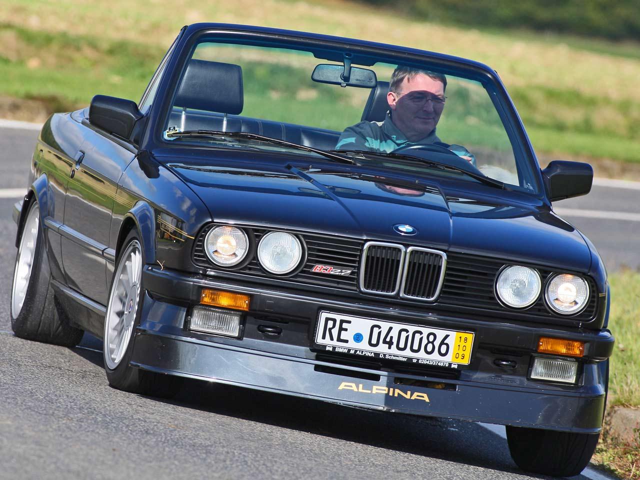 Alpina B3 E30 1987 - 1992 Cabriolet #8
