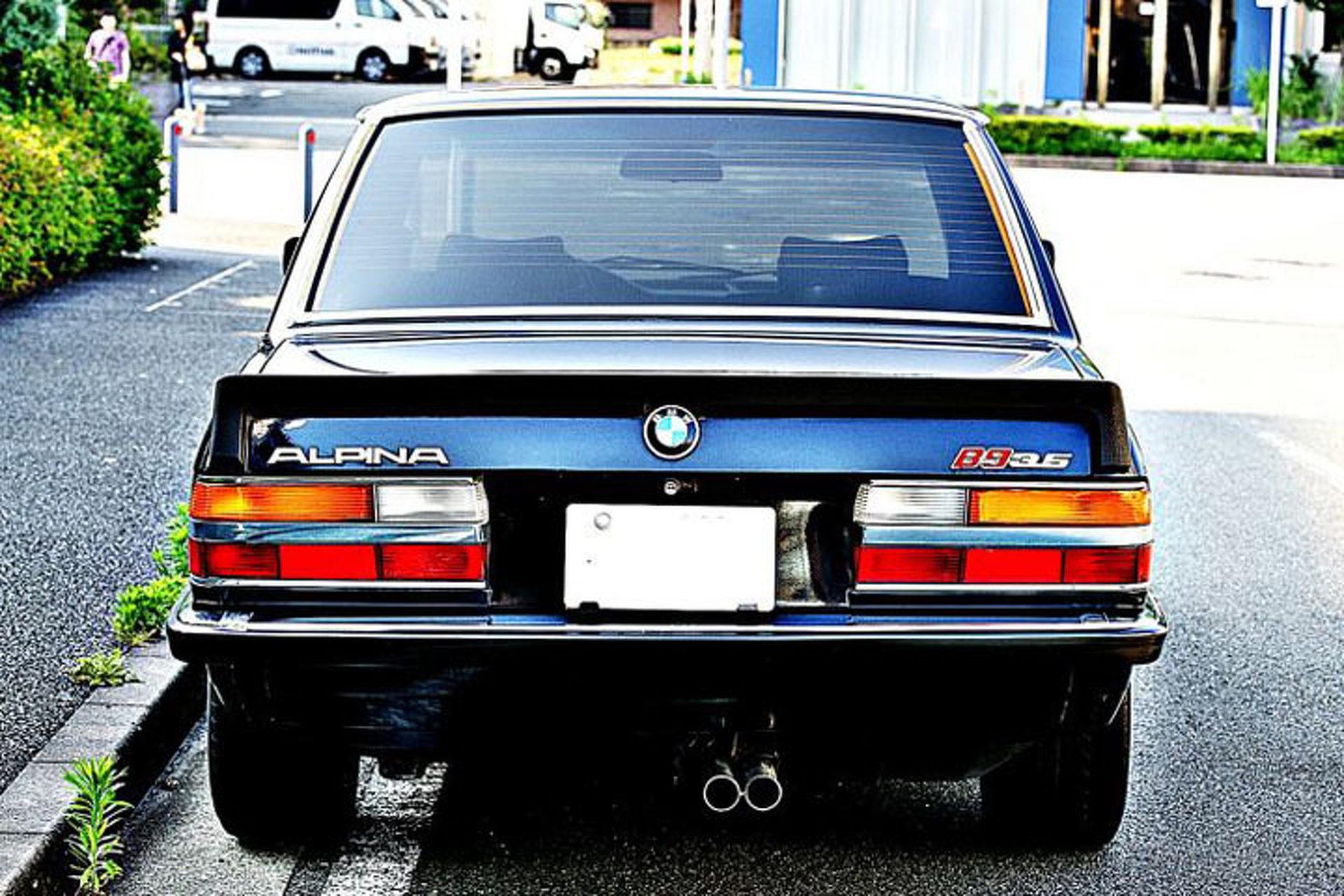 Alpina B9 1981 - 1985 Sedan #7