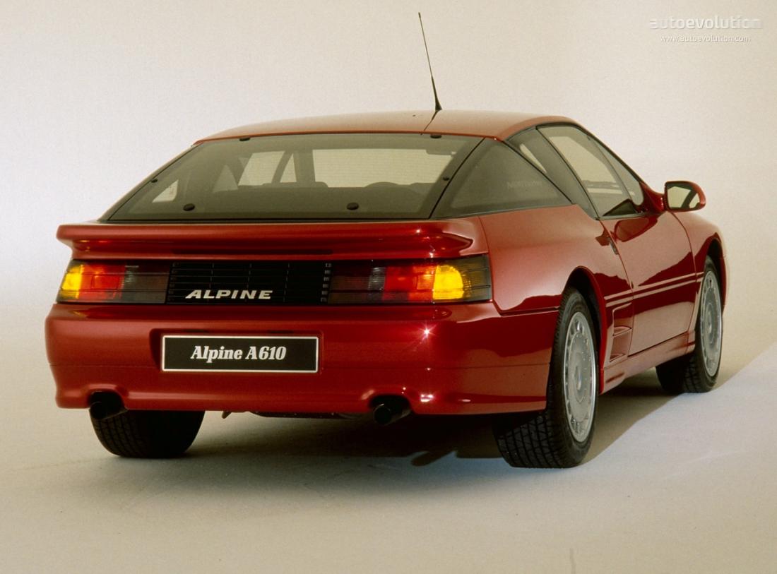 Alpine A610 1991 - 1995 Coupe #3