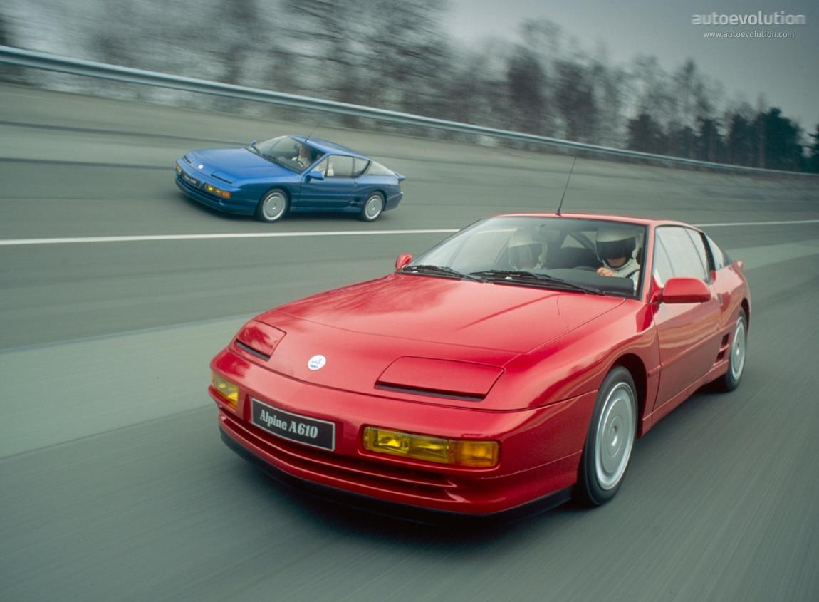 Alpine A610 1991 - 1995 Coupe #6